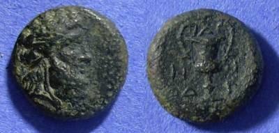 Ancient Coins - Cyclades Andros AE17– Circa 300-250 BC