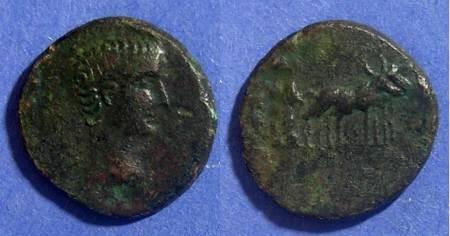 Ancient Coins - Philippi(?) Macedonia, Augustus 27BC-14AD, AE18