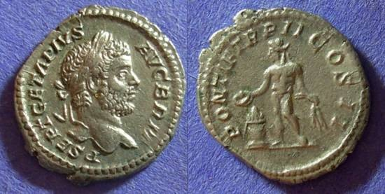Ancient Coins - Geta (as Augustus) 209-212AD Denarius