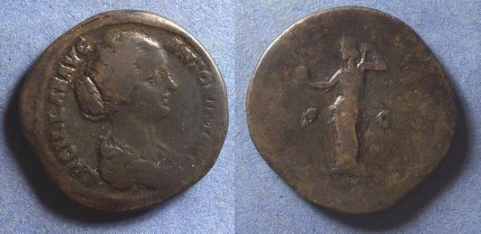 Ancient Coins - Roman Empire, Lucilla 161-9, Sestertius