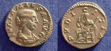 Ancient Coins - Julia Maesa (Grandmother of Elagabalus and S. Alexander) Died 223  Denarius