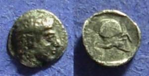 Ancient Coins - Skione Macedonia Hemiobol– 420BC