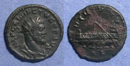 Ancient Coins - British Sucessionist Empire, Allectus 293-6 AD, Antoninianus