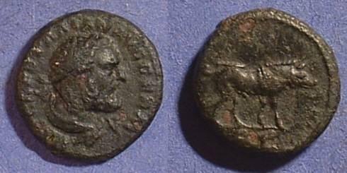 Ancient Coins - Trajan 98-117AD Quadrans - Hercules and the boar