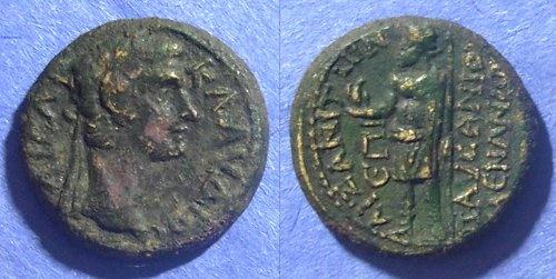 Ancient Coins - Aezanis Phrygia, Claudius 41-54 AD, AE20