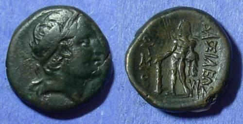 Ancient Coins - Bithynian Kingdom Prusias II 185-149 BC AE17