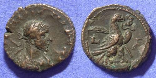 Ancient Coins - Roman Egypt - Aurelian Tetradrachm 170-175AD