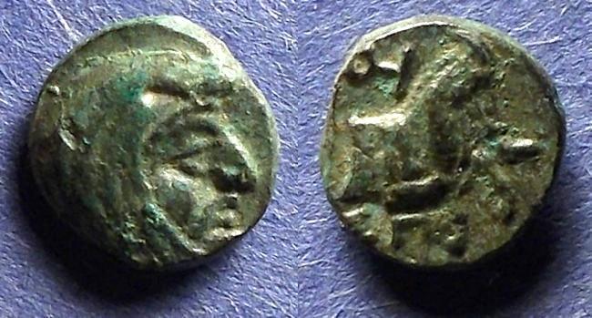 Ancient Coins - Satraps of Lycia & Ionia, Spithridates Circa 334 BC, AE10