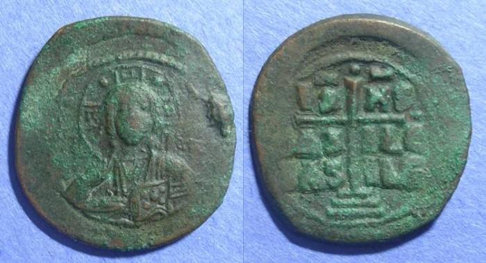 Ancient Coins - Byzantine Empire, Anonymous (Romanus III) 1028-34, Follis