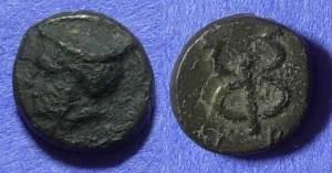 Ancient Coins - Phocaea Ionia AE11 –  Circa 200 BC