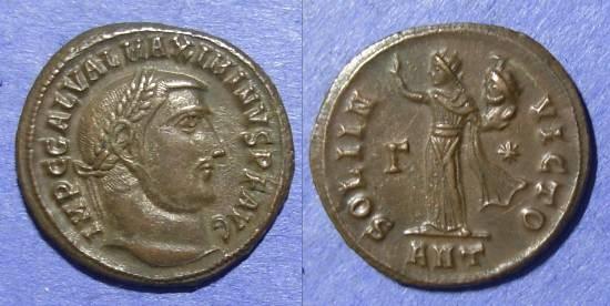 Ancient Coins - Roman Empire, Maximinus II 309-313, Follis