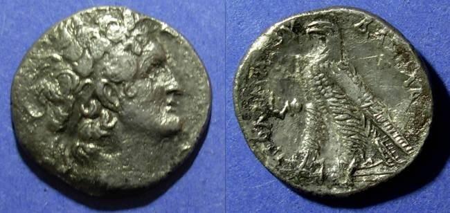Ancient Coins - Egypt, Ptolemy VIII 145-116 BC, Tetradrachm