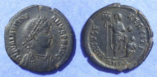 Ancient Coins - Valentinian II 375-392 AE2 of Antioch