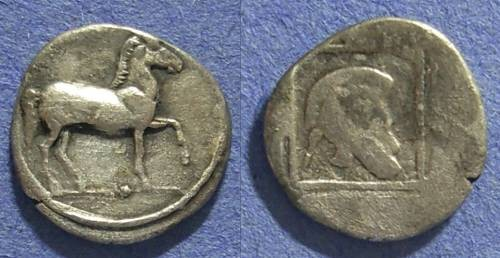 Ancient Coins - Macedonia, Alexander I 498-454 BC, Tetrobol