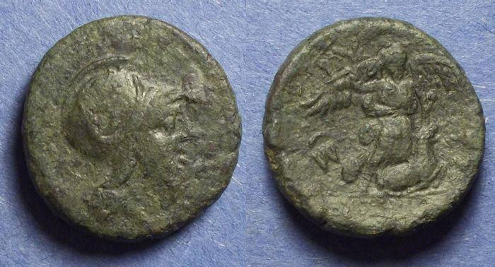 Ancient Coins - Sicily, Syracuse under Roman rule Circa 200 BC, AE21
