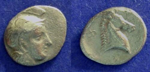 Ancient Coins - Pharsalos, Thessaly 440-425 BC, Hemidrachm