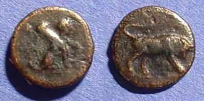 Ancient Coins - Caria Kaunos - AE12 Circa 330BC