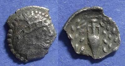 Ancient Coins - Thracian Tribes (?), Imitation 1st Century BC, Hemidrachm?