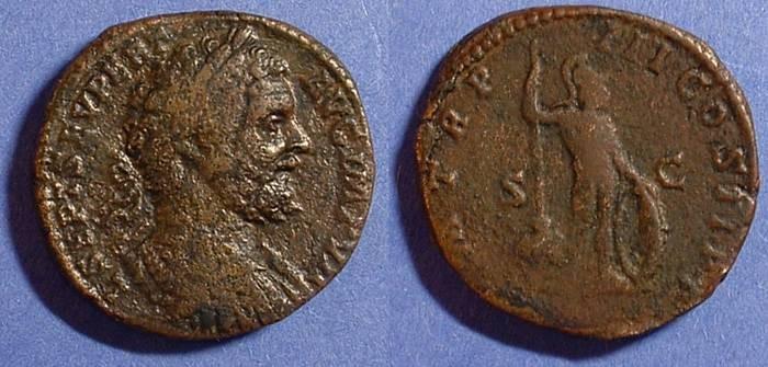 Ancient Coins - Septimius Severus 193-211 Sestertius