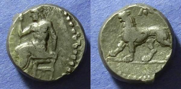 Ancient Coins - Babylon, Uncertain satrap 328-311 BC, Double shekel