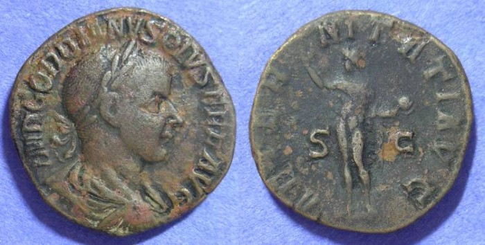 Ancient Coins - Gordian III 238-244 - Sestertius