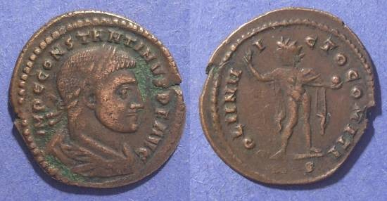 Ancient Coins - Roman Empire, Constantine 307-337, Follis 23mm
