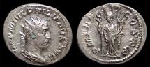 Ancient Coins - Philip I, AR Antoninianus, AD 246. Rome. Rx./ Felicitas. aEF
