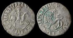 Ancient Coins - Medieval Armenia. Cilician Kingdom. King Levon II, 1270-1289 AD. Silver tram