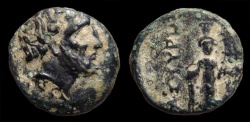 Ancient Coins - Mysia, Astyra. Satrap Tissaphernes. 400-395 BC. AE-12. Rx./ Artemis Astyrene