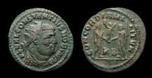 Ancient Coins - Constantius I, as Caesar. Antoninianus. AD 293-5. Kyzicus. Nice VF