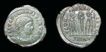 Ancient Coins - Delmatius, AE-Follis. Kyzicus. Choice VF