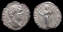 Ancient Coins - Clodius Albinus. AR Denarius, AD 194 as Caesar. Felicitas. VF