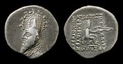 Ancient Coins - Parthia, Persia. Sinatruces, 95-70 BC. Silver drachm.