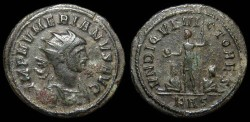 Ancient Coins - Numerian, 282-284 AD. AE antoninianus, Rome mint. Sharp portrait.