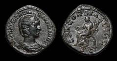 Ancient Coins - Otacilia Severa, AE-Sestertius, AD 245-7. Concordia. Nice VF