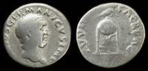 Ancient Coins - Vitellius. Budget silver denarius, struck 69 AD.