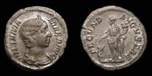 Ancient Coins - Julia Mamaea, AR Denarius, AD 232. Fecunditas. Nice EF