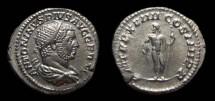 Ancient Coins - Caracalla, AR Antoninianus, AD 216. Jupiter. EF