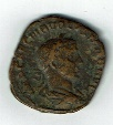 Ancient Coins - Volusian, 15.10 g, 30 mm, AD 252-254, Sestertius, Concordia, SR 9785