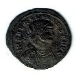 Aurelian, 2.90 g, AD 270-275, Antoninianus, 180 degree Double Strike, SR 11542