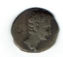 Augustus, 3.00 g, 27 BC-AD 14, Colonia Patricia 18-16 BC, Denarius, Capricorn, SR 1592