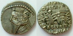 Ancient Coins - Parthia Vologases III