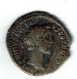 Antoninus Pius, 3.00 g, AD 138-161, AR Denarius, Aequitas, SR 4049