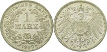 World Coins - German Empire, 1 Mark 1909 D, Prooflike
