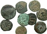 Ancient Coins - [Judaean]. Lot of nine various Æ.