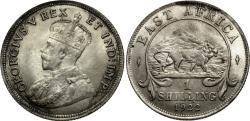 World Coins - East Africa. George V. 1922-H. 1 shilling. Unc.