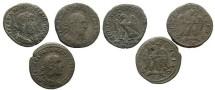 Ancient Coins - [Roman Provincial]. Lot of three BI tetradrachms from Antioch.