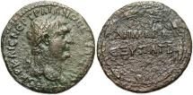 Ancient Coins - Syria, Seleucis and Pieria. Antiochia ad Orontem. Trajan. A.D. 98-117. Æ. VF, brown patina, porosity.