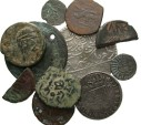 Ancient Coins - [Miscellaneous]. Lot of eleven AR and Æ, ancient to modern.