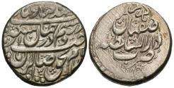 World Coins - Iran, Zand Dynasty. Karim Khan. 1753-1779. AR 2 abbasi. Isfahan, AH 1184. EF.